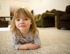 Little Girl - Upholstery Cleaning